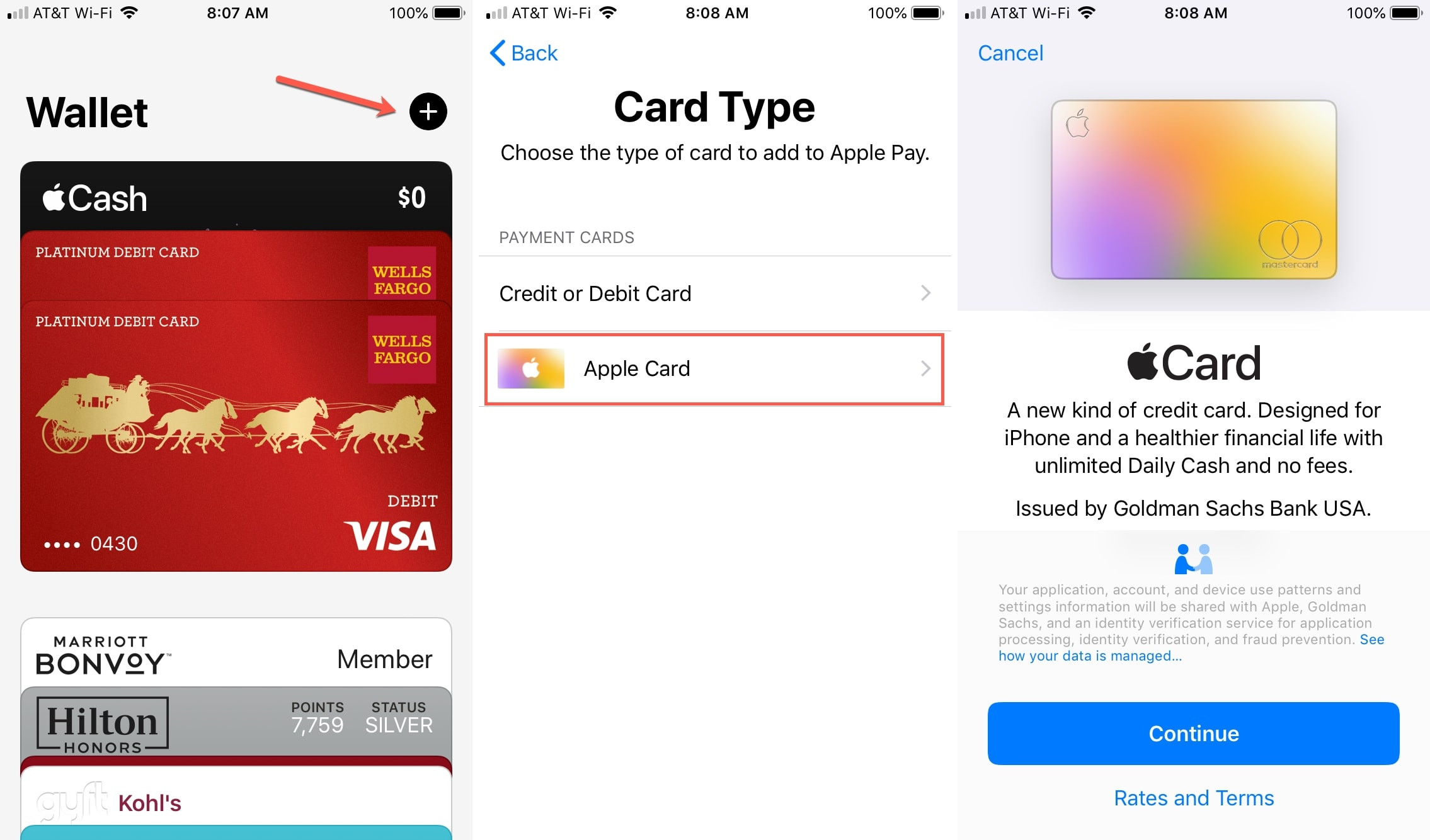 Applicable to Apple Wallet