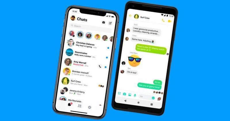 Facebook    Temiz, Messenger Kullanıcı 2'de ses dinlemekten gelir