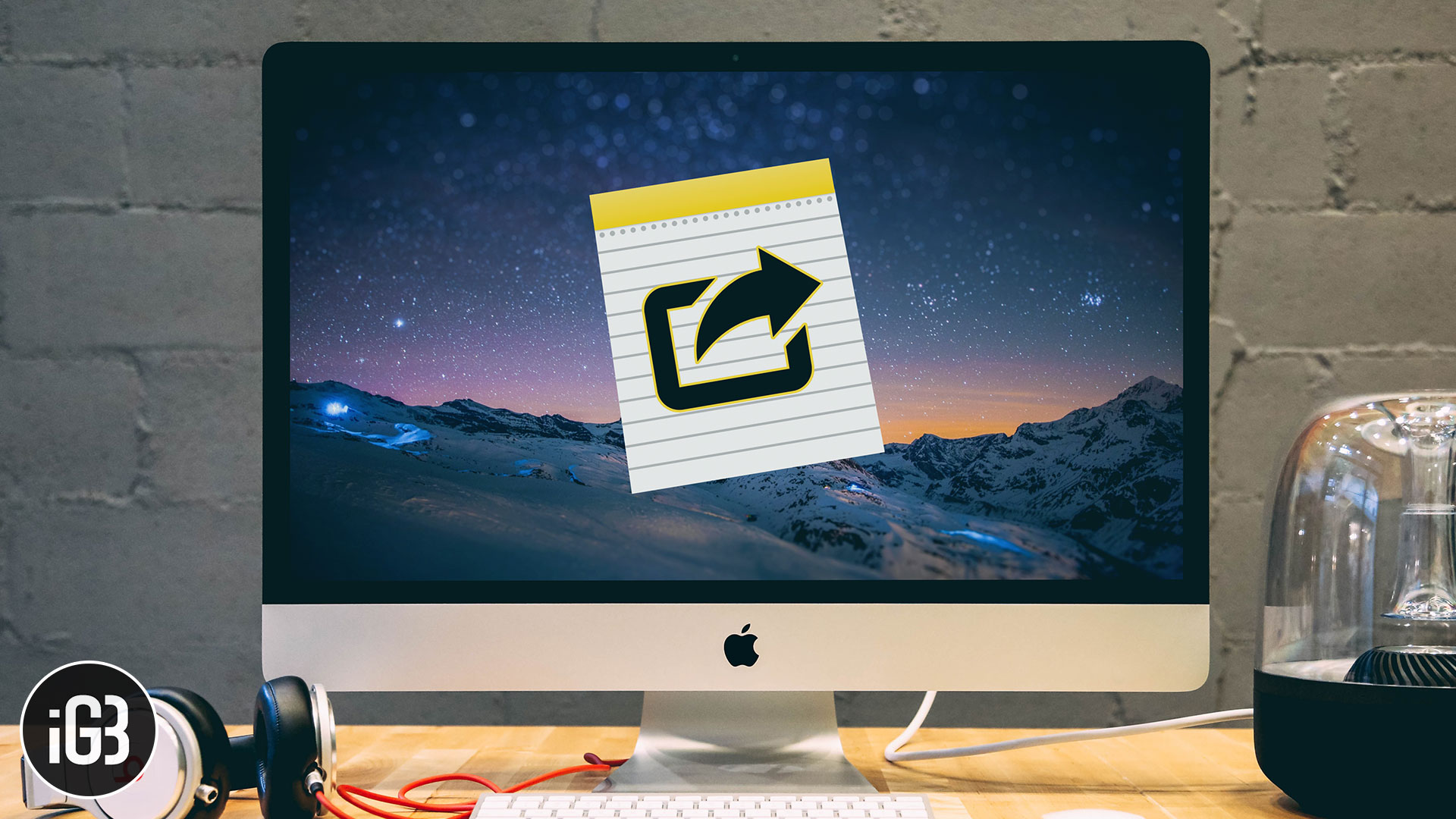 Cara Mengekspor Catatan sebagai PDF di Mac »