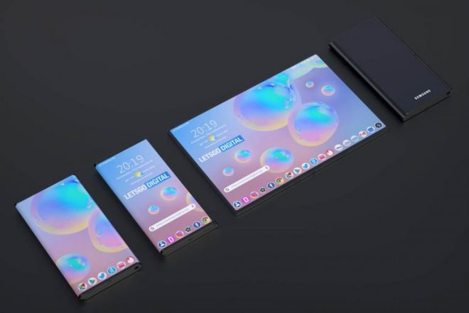 Samsung патенти за нов телефон со палета на Галакси со дизајн со папка 5