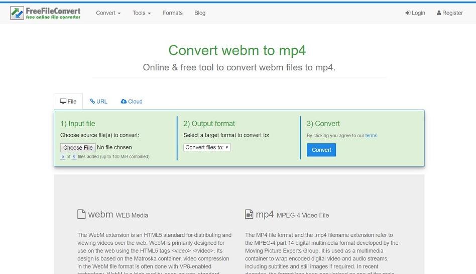 konverter video webm ke mp4