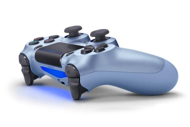 Sony PlayStation DualShock 4 Warna Baru: Emas Mawar, Ungu Listrik, Kamuflase Merah, Titanium Biru 4