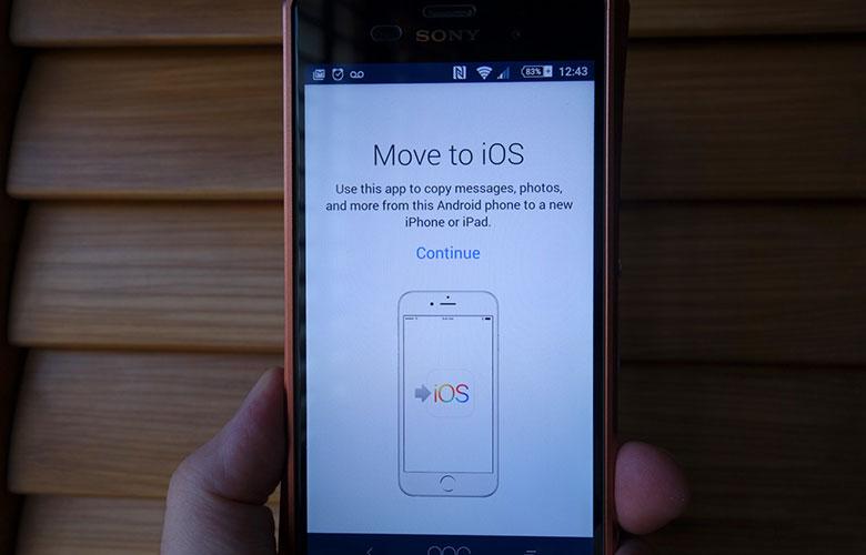 Di chuyển đến iOS có sẵn để tải xuống trên Android 3