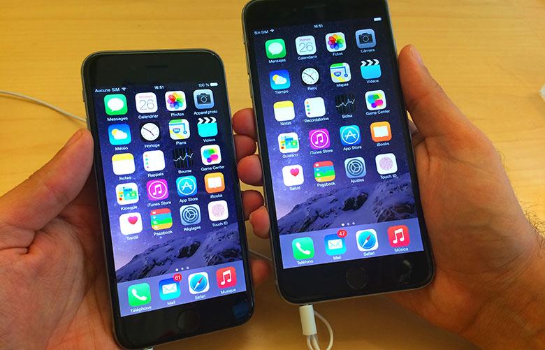 IPhonen toimitusaika 6 ja iPhone 6 Plus alennettu 3
