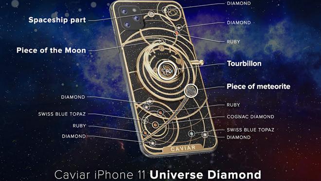 iPhone 11 од кавијар дијамант
