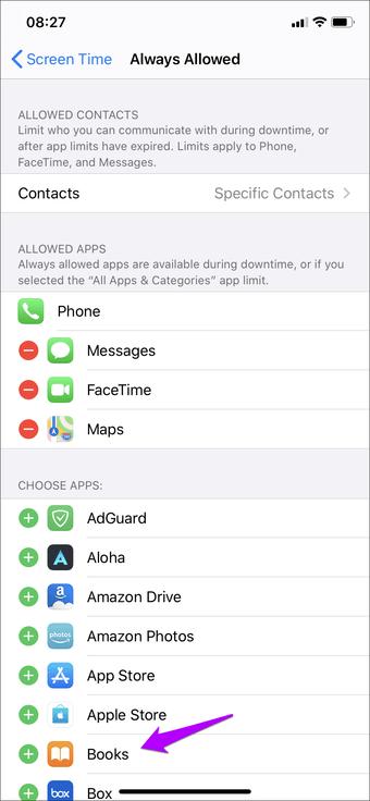 Iphone Ipad-dan sol ekran tətbiqini istisna et 3