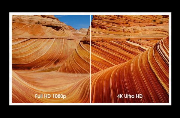 Diferencia en TV Ultra HD 4K