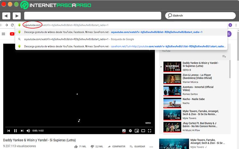 Ako sťahovať videá z YouTube bez použitia programu na úpravu adresy URL