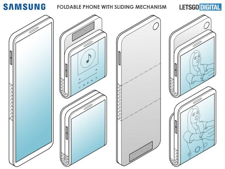 Samsung ikinci nəsil üçün yeni bir dizayn patentləşdirdi Galaxy Fold 1