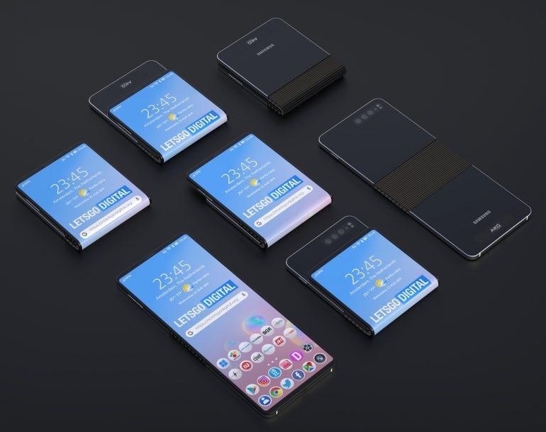 Samsung ikinci nəsil üçün yeni bir dizayn patentləşdirdi Galaxy Fold 2