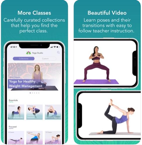7    Sağlamlığınızı və 2019-cu ildə uyğun olmağınız üçün iPhone üçün ən yaxşı yoga tətbiqetməsidir 1
