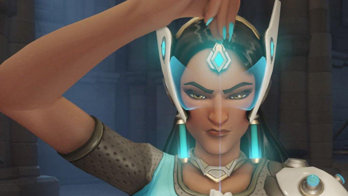 Ən az oynanan Overwatch personajlarından sonra Symmetra indi 'It Girl' oyunudur 1