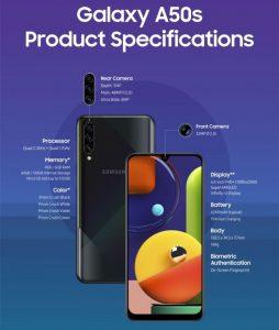 Samsung mengumumkan Galaxy A50s dan A30s dengan kamera yang lebih baik dan spesifikasi yang ditingkatkan 4