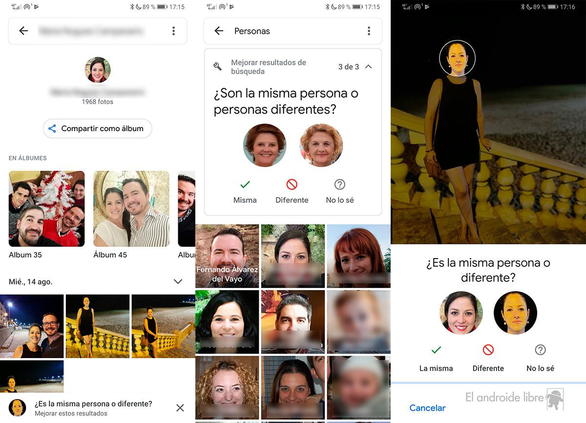 Los álbumes de personas de Google Photos finalmente llegan a más países 1