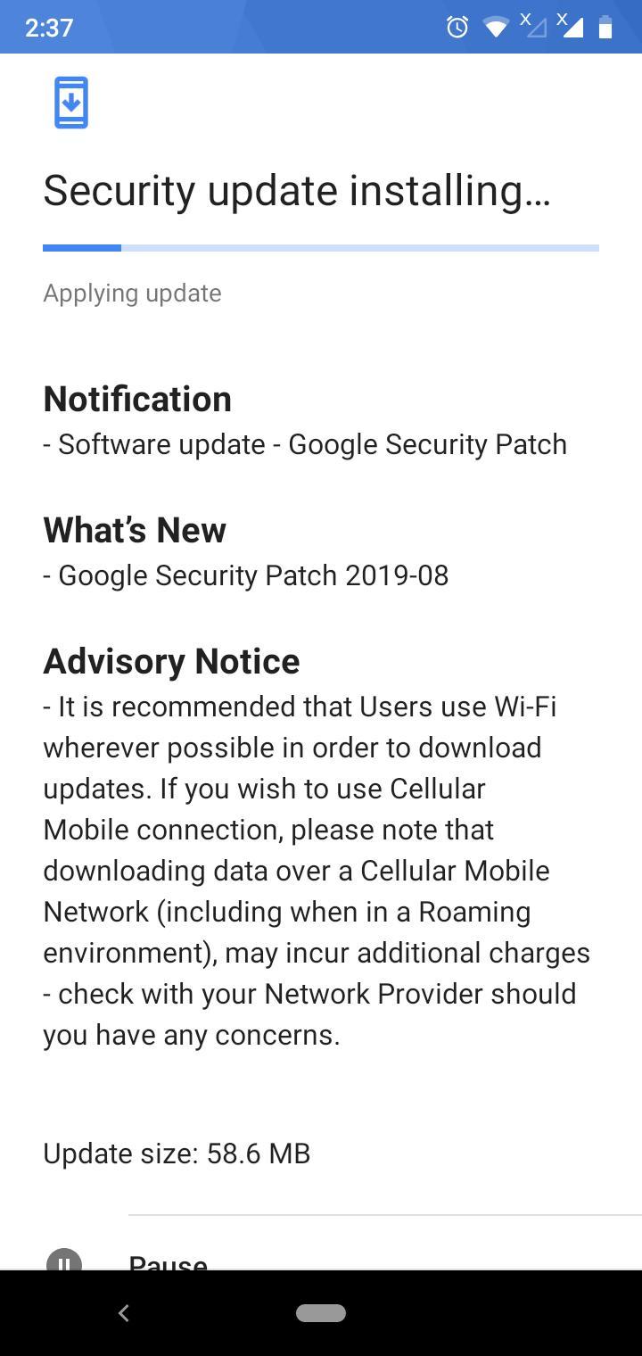 Pembaruan keamanan Agustus tersedia untuk Nokia 3.2 3