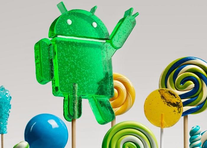 Android 5.0 Piruleta