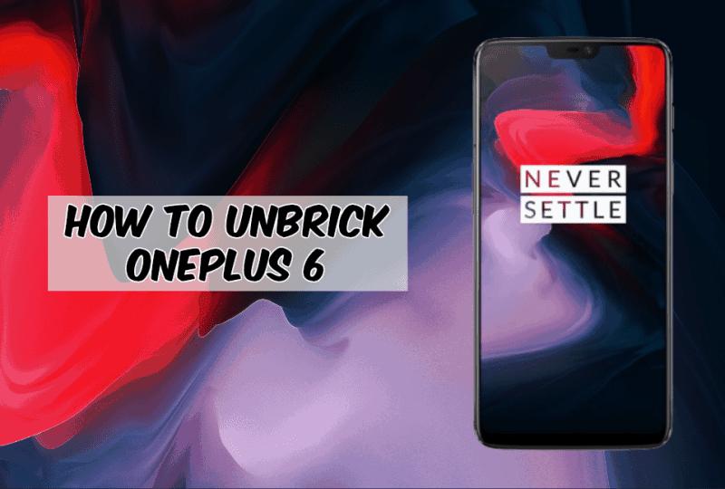 Bagaimana Cara Unbrick Oneplus 6 Menggunakan Alat Msmdownload