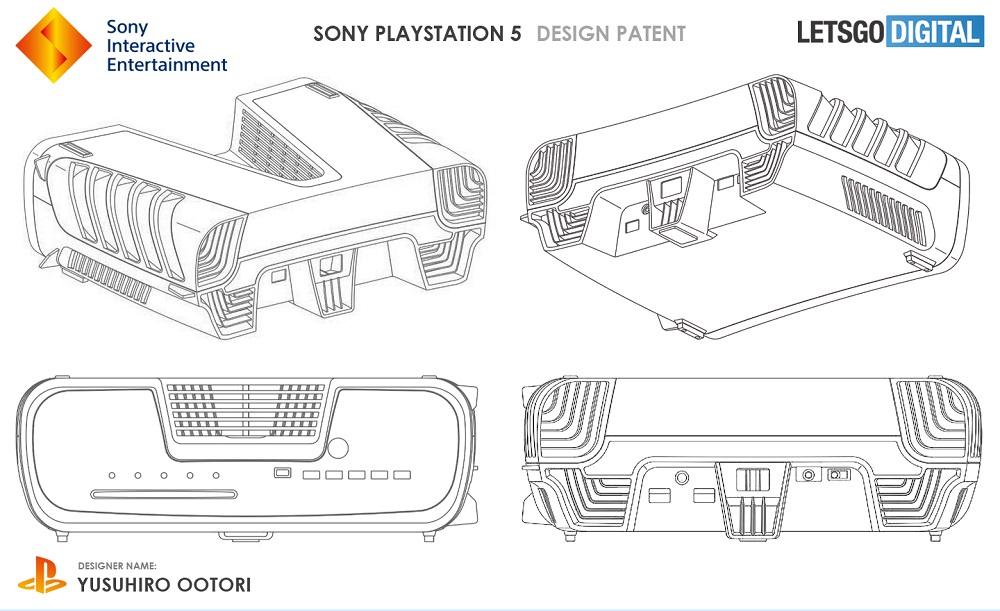 Sony'nin bir oyun konsolu üçün patenti görünür; PlayStation üçün mümkündür 5 1