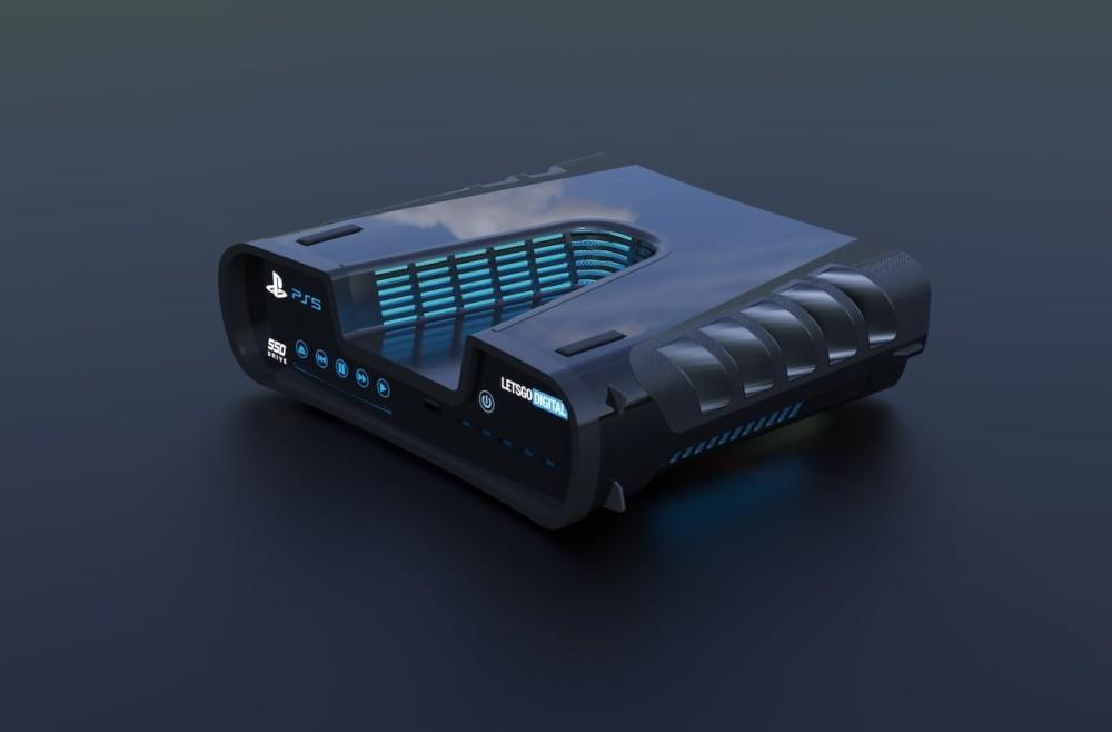 Вака изгледа PlayStation 5 - скицата за патенти е претворена во реален рендерирање 2