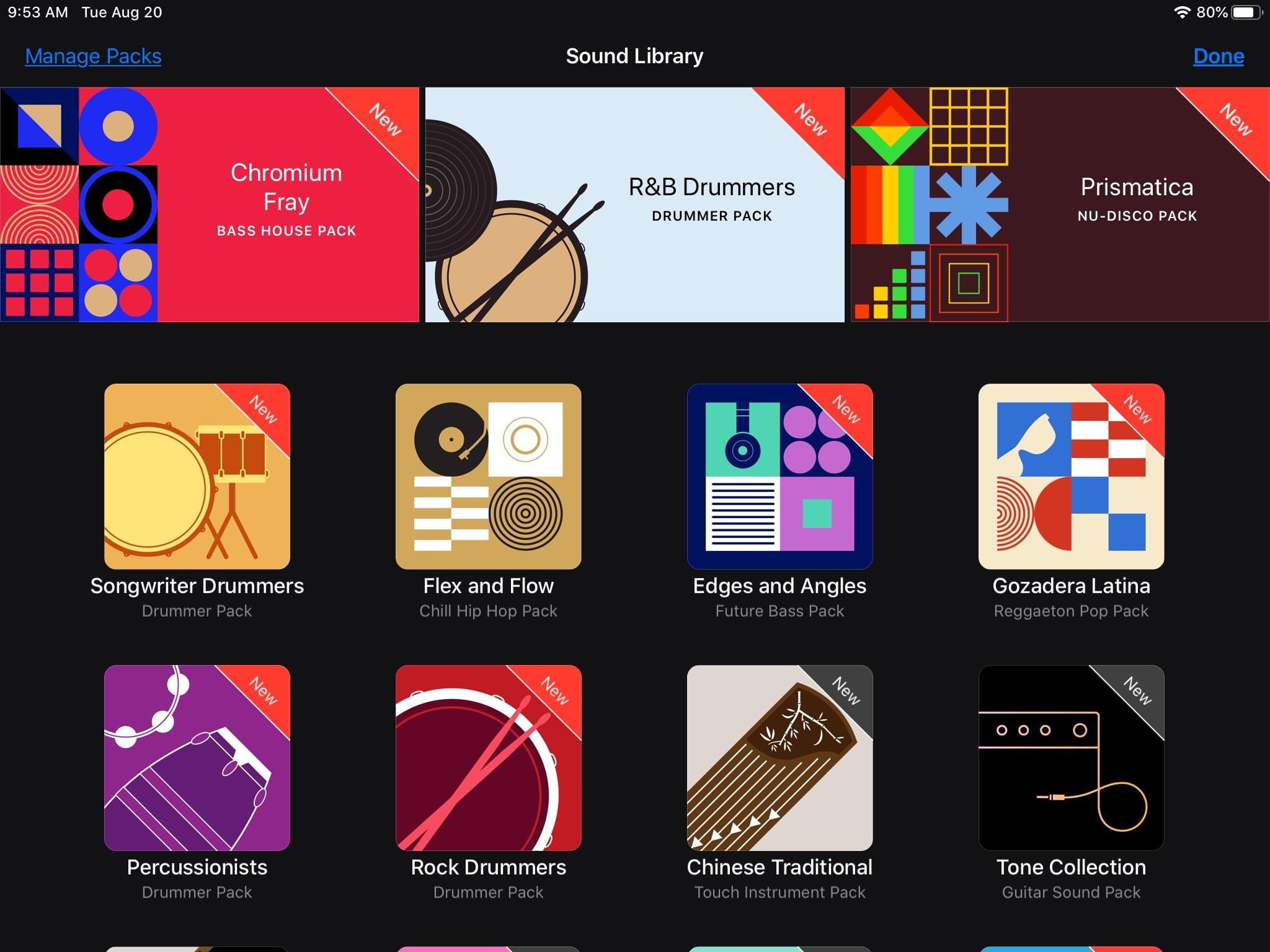 GarageBand yükləyin Apple IPad döngələri