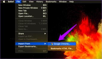 Importar Chrome Marcadores para Safari 6