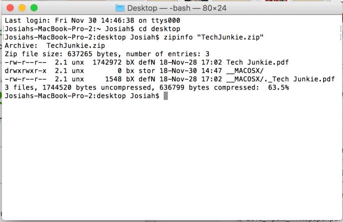 """MacOS-da Zip fayl parollarını necə qorumaq olar 6""""width ="""" 690 """"height ="""" 446"""
