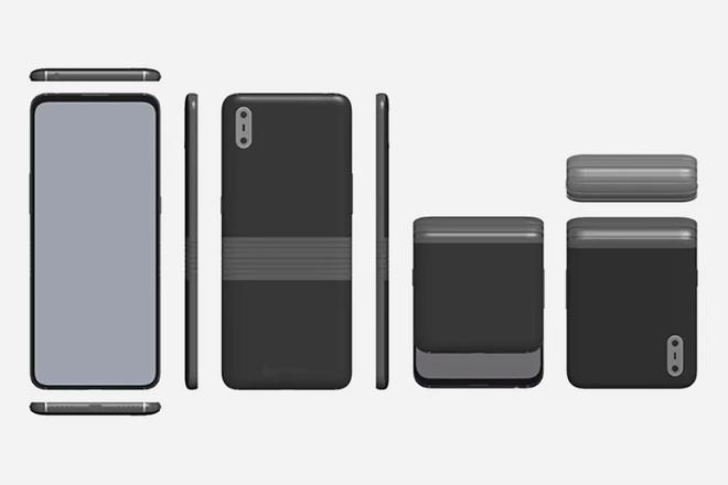 Se filtraron dos teléfonos plegables TCL, incluida una cubierta como un teléfono plegable 1