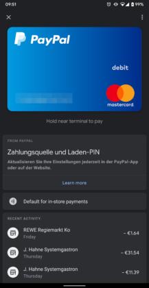 Google Pay 2.96 lisää tumma tila 5