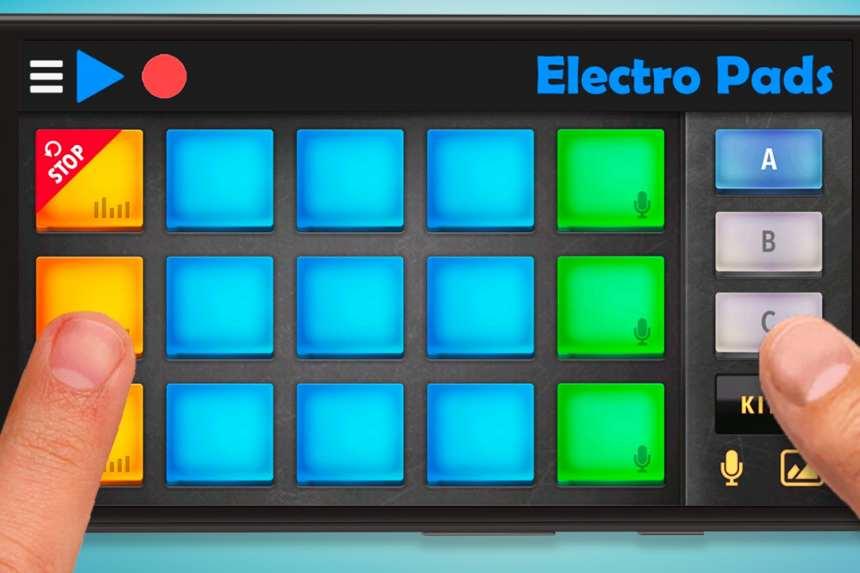 Ứng dụng di động để tạo nhạc điện tử với các vòng lặp và mẫu. 2