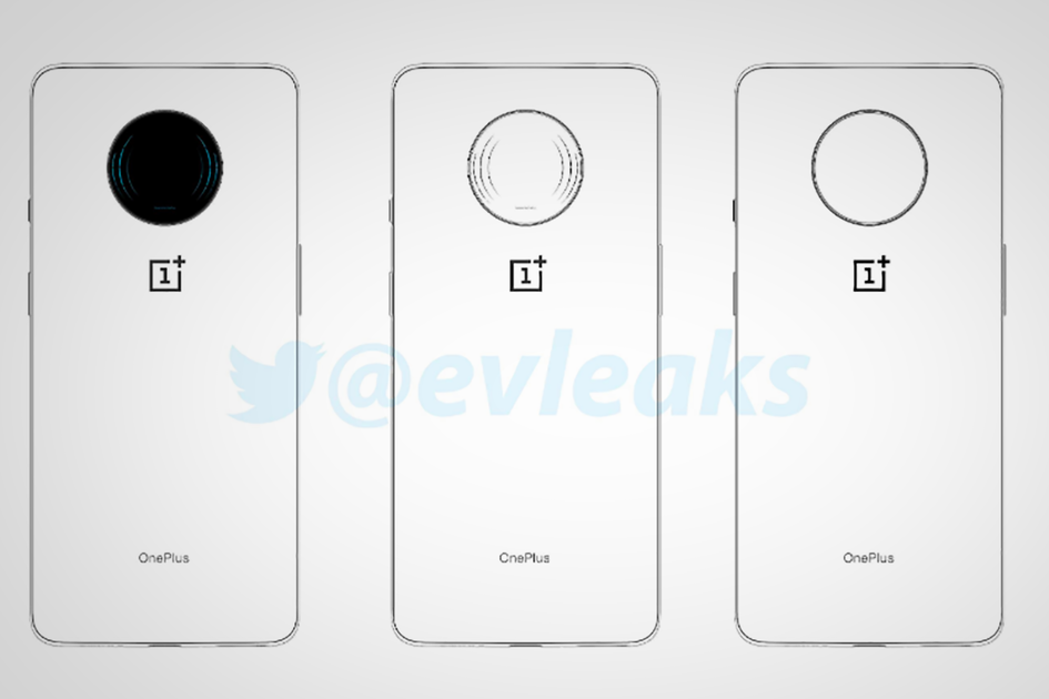 Sketsa yang bocor ini menunjukkan telepon OnePlus yang misterius, mungkin 5G 7T Pro?