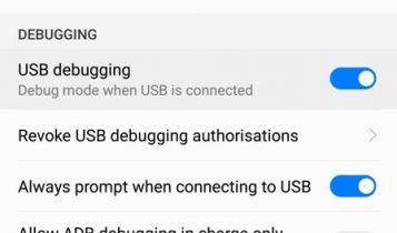 Huawei və Honor cihazlarında USB düzəlişini necə aktivləşdirmək olar 5
