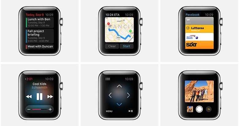 Apple Watch и оригинальное приложение, найди их 7