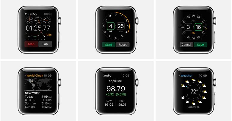 Apple Watch и оригинальное приложение, найди их 8