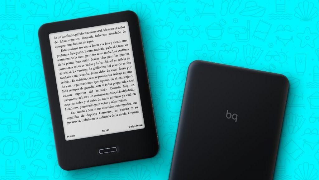 BQ e-book Spanish mobile brand