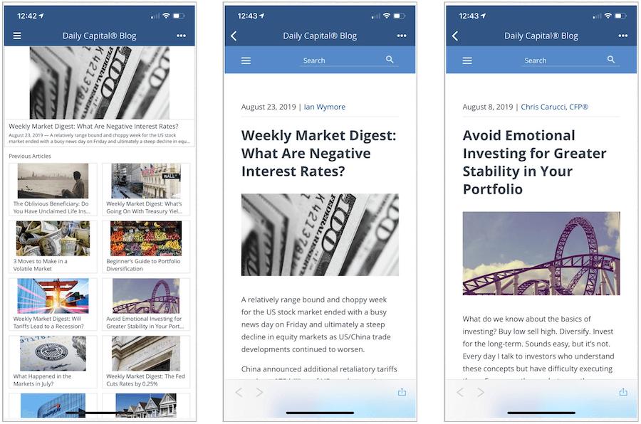 Daily Capital Blog