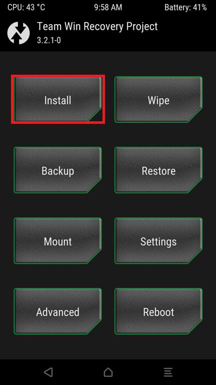En son Android 2 cihazlarına TWRP Kurtarma nasıl kurulur