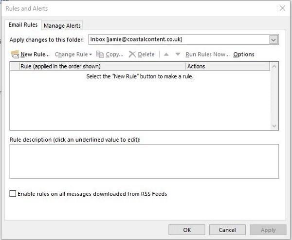 Cómo reenviar correo automáticamente en Outlook 1