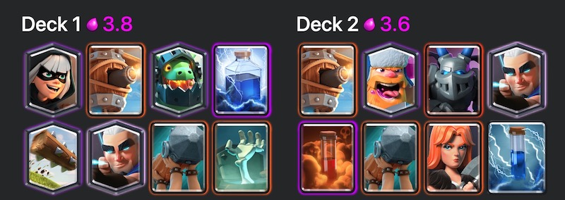 Archer deck and a lot of spam with a battering ram