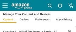 Web pre Android pre Kindle Váš obsah a zariadenia