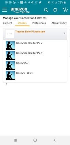 Web pre Android pre Kindle nájsť Kindle