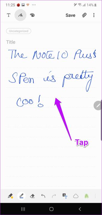 Samsung Galaxy Note    10 S Pen y funciones de personalización 14