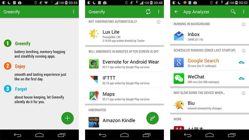 """Android üçün ən yaxşı batareya qənaət tətbiqini yaşıllaşdırın """"width ="""" 840 """"height ="""" 473"""