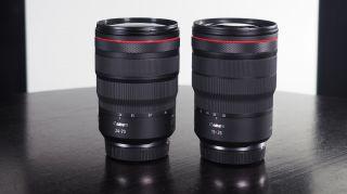 Canon RF 24-70mm f / 2.8L và 15-35mm có chung đường kính bộ lọc 82mm