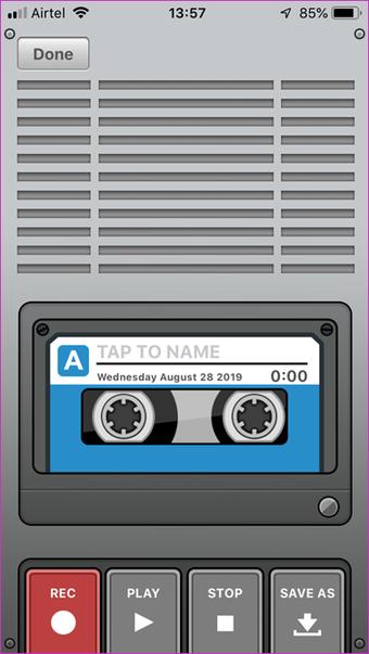تطبيق تسجيل صوتي لهاتفي 5
