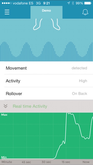 MonBaby, körpənizə iPhone ilə qayğı göstərmək üçün ağıllı bir broş 4