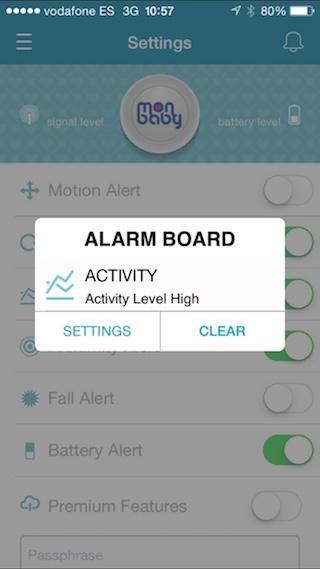 MonBaby, körpənizə iPhone ilə qayğı göstərmək üçün ağıllı bir broş 5