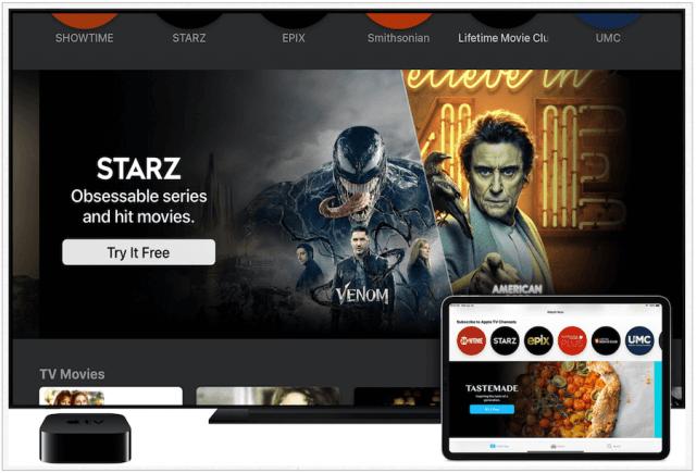 Apple    Canales de televisión
