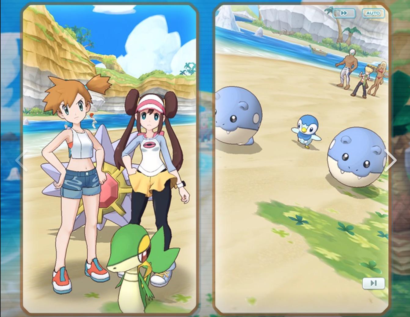 Se on ilmainen Pokemon Mastery iOS: lla ja Androidilla. Tämä on peli, jossa ... Pokemon-kouluttaja keräsi 1