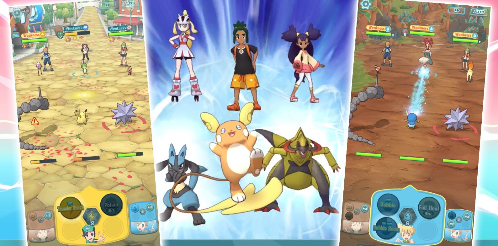Se on ilmainen Pokemon Mastery iOS: lla ja Androidilla. Tämä on peli, jossa ... Pokemon-kouluttaja keräsi 2