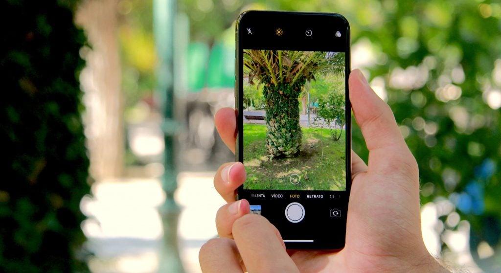 этот ненастный слепой тест фото со смартфона ландшафтном